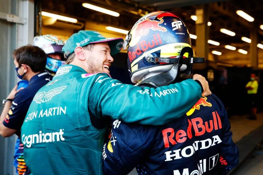 Pérez se merece un coche ganador como el que tiene en Red Bull: Sebastian Vettel