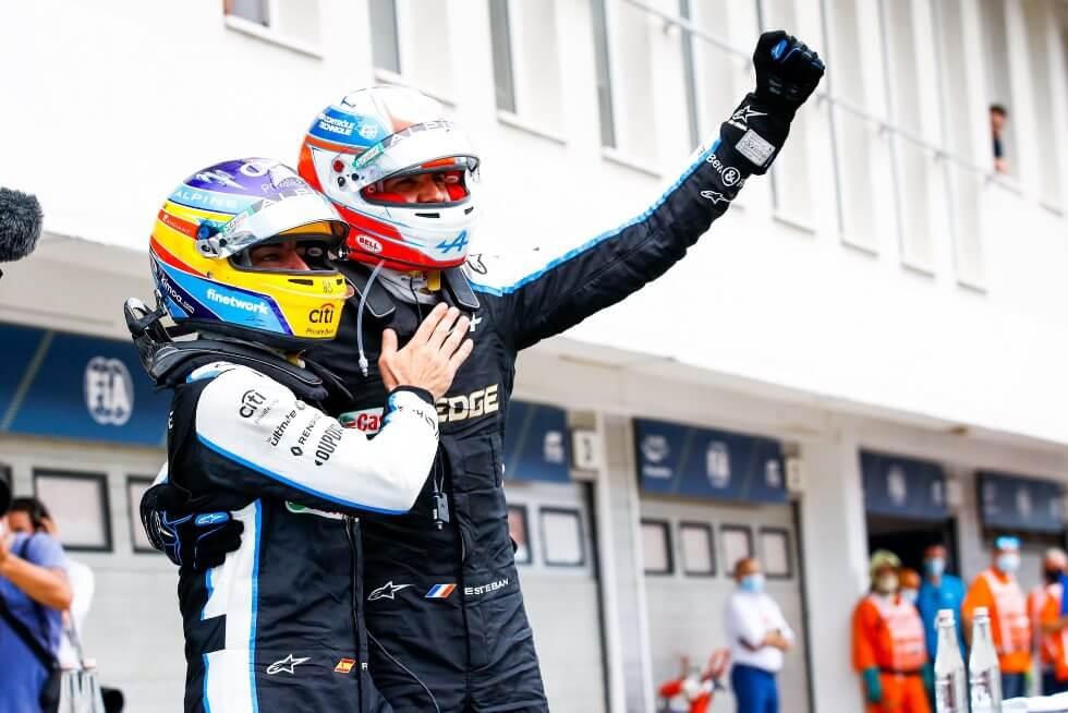 """¡Esteban Ocon logra su primera victoria en F1! """"Esto es fantástico, esta victoria también es de Alonso"""""""