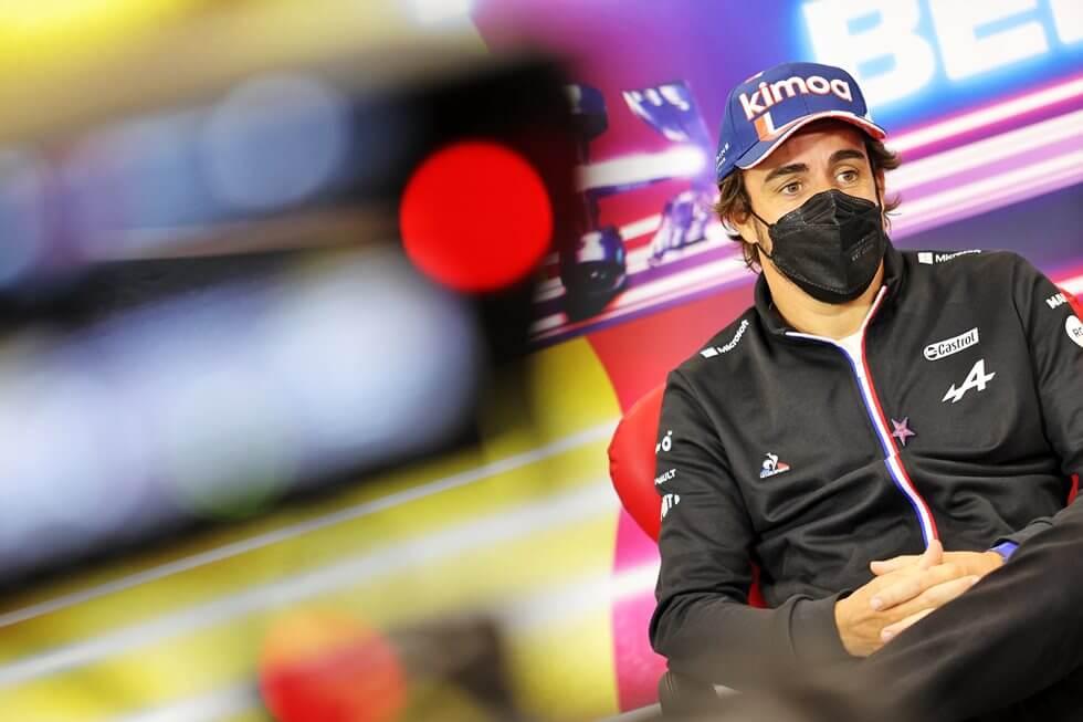"""Fernando Alonso renueva con Alpine para 2022: """"Estoy muy feliz de confirmar la extensión del contrato"""""""