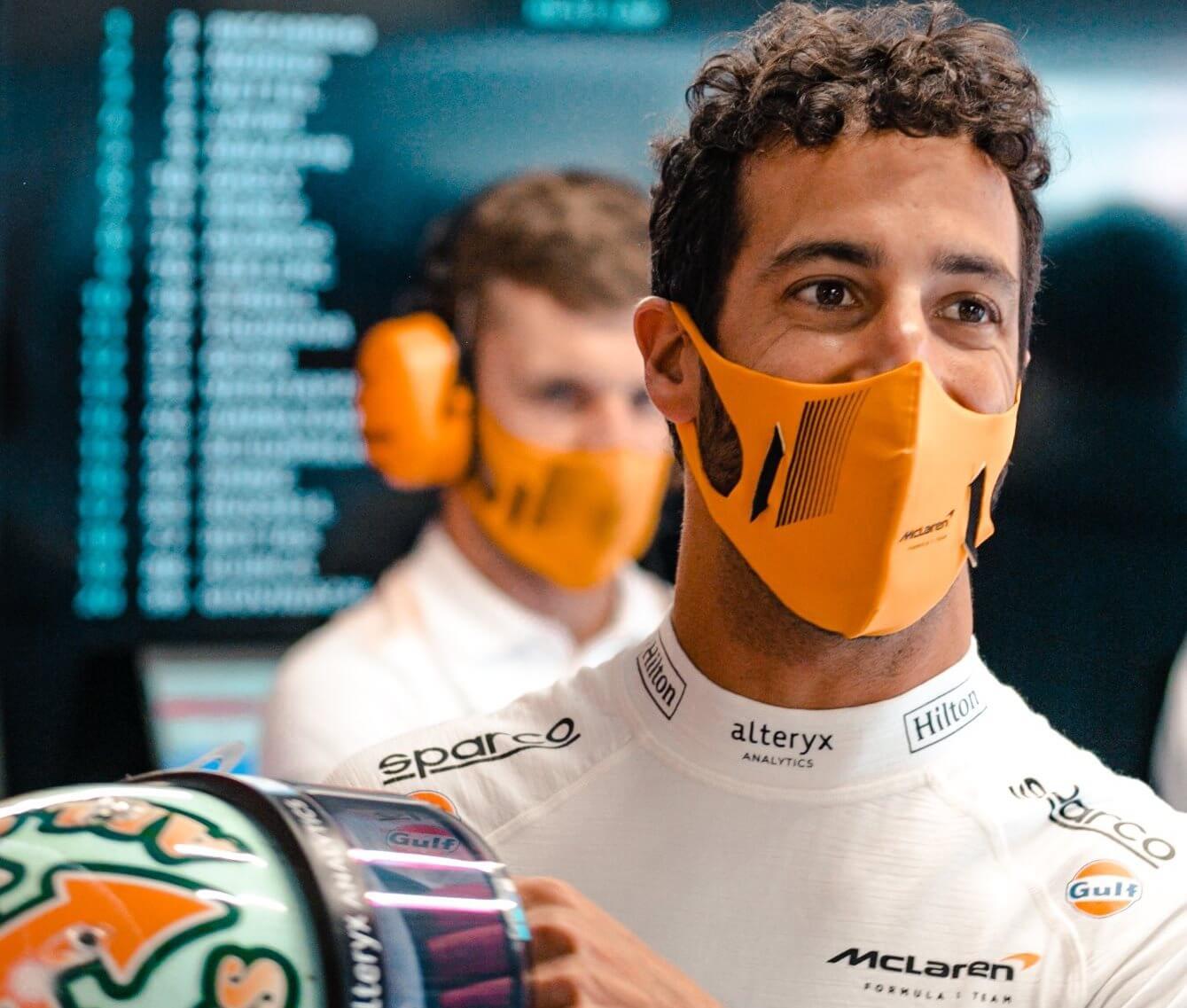 "Daniel Ricciardo advierte: ""Tengo ganas de mañana, atacaré a tope"""