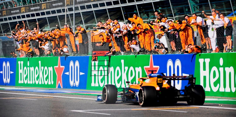 """En McLaren destacan la extraordinaria asociación con Mercedes: """"Los resultados hablan por sí solos"""""""