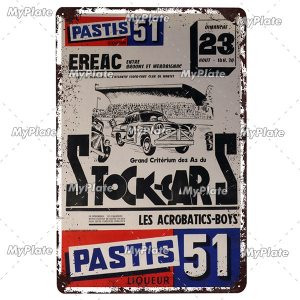 LE MANS Metal Sign 20 x 30 cm