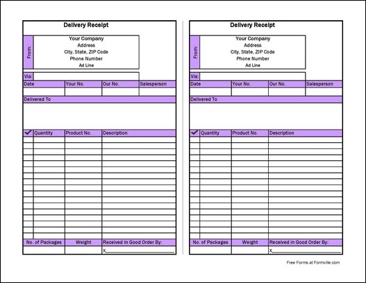Delivery Form Template delivery order template 12 free excel pdf – Proof of Delivery Form Template