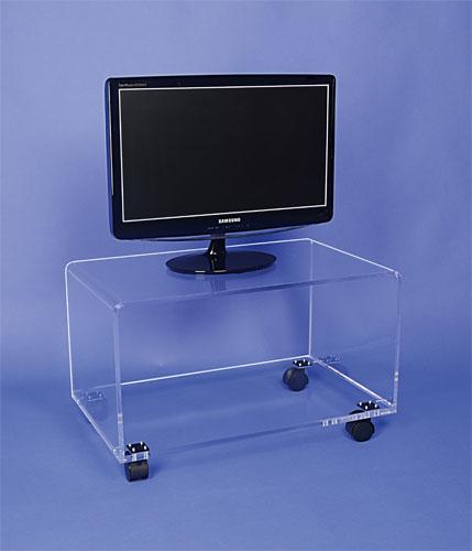 table tv sur roulettes haut 40