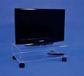 Table Tv Sur Roulettes Meuble Tv Plexiglas Formxl