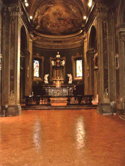 Pavimento in cotto per chiese