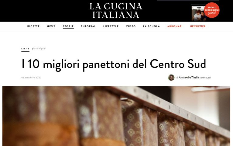 La Cucina Italiana I 10 Migliori Panettoni Del Centro Sud 12 2020