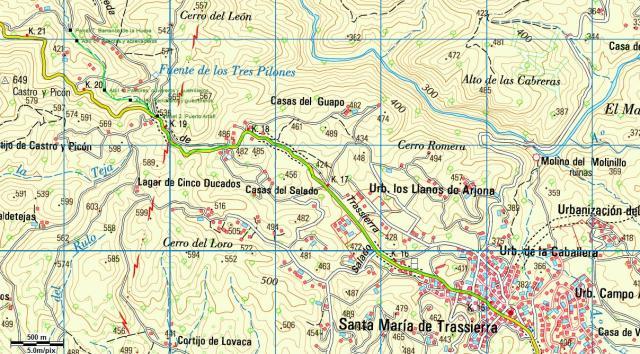 Ruta verde Puerto Artafi Guadiato