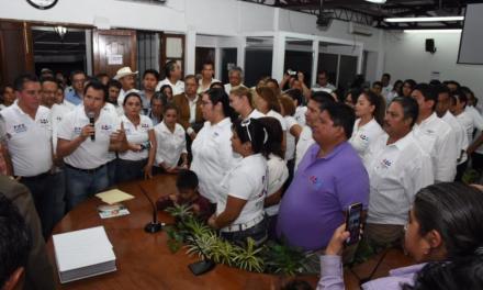 Registra Encuentro Social a sus candidatos a diputados locales ante el OPLE Veracruz