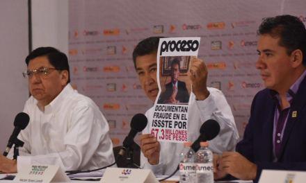 Gana Héctor Yunes primer debate de candidatos a la gubernatura