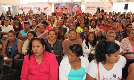 Programa de crédito a la palabra para las mujeres de Veracruz, propone Méndez de la Luz