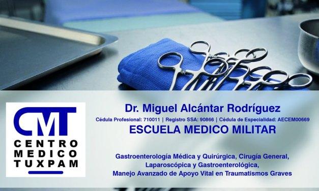 Dr. Miguel Alcántar Rodríguez