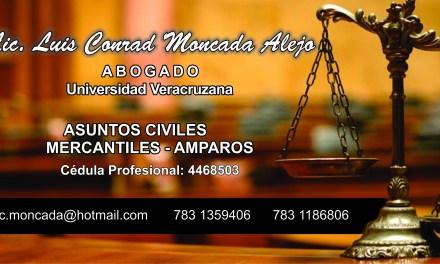 Lic. Luis Moncada Alejo