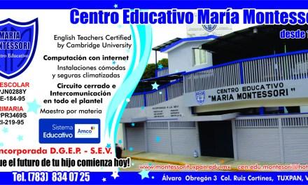 Centro Educativo María Montessori