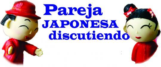 PAREJA JAPONESA DISCUTIENDO