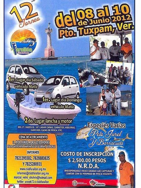TORNEO DE PESCA VARIAS ESPECIES CLUB CAZONES 2012