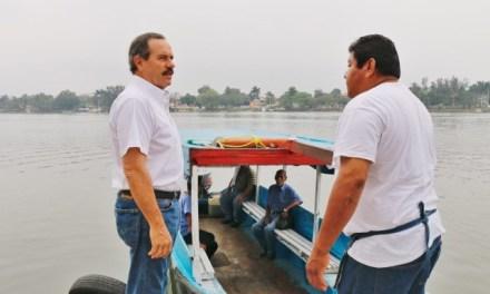 Sufren hambre pescadores de la laguna de Tamiahua: Juan Bueno Torio