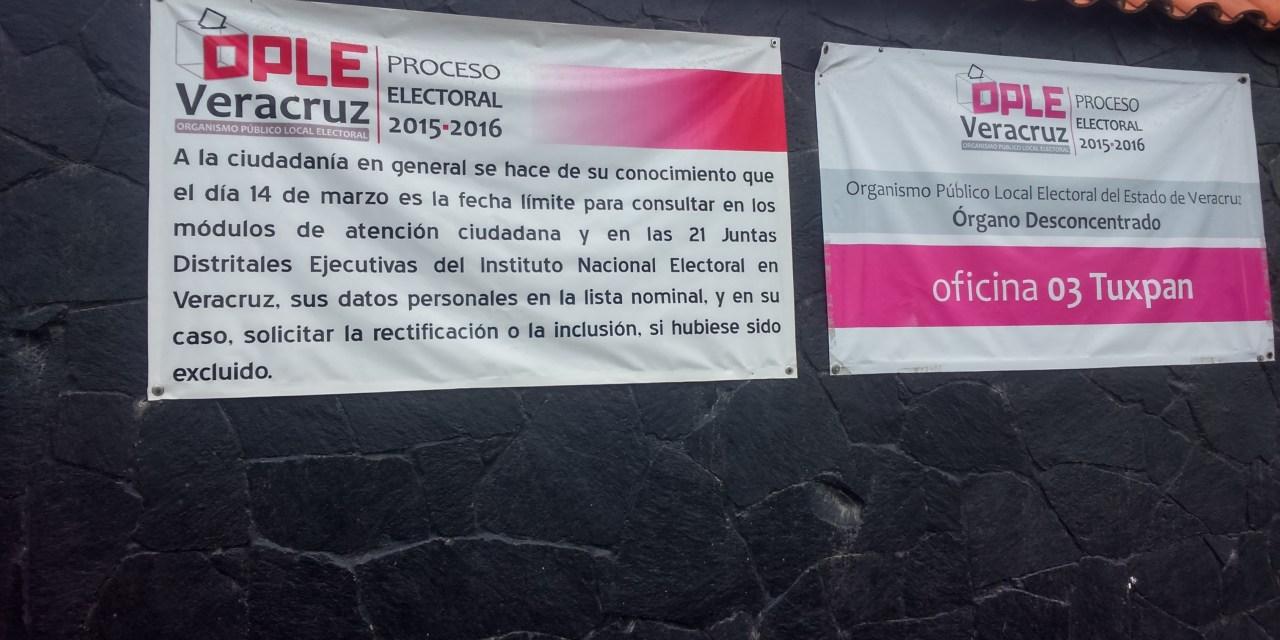 LLEGA PRIMERA PAQUETERíA ELECTORAL