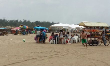 Playa sin infraestructura turística