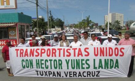 """Transportistas manifiestan su apoyo a la coalición """"Para mejorar Veracruz"""""""