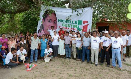 Pescadores no estarán solos: Michelle Gustin
