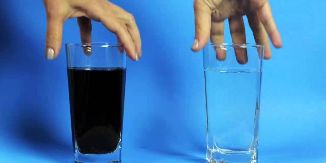 ¿Usted que prefiere un vaso de Agua o un vaso de Coca Cola?