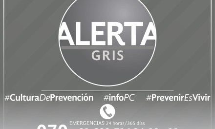 Activa PC Alerta Gris preventiva por Disturbio Tropical 95-L
