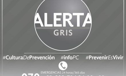 Activa PC Alerta Gris preventiva por Disturbio Tropical 95-L