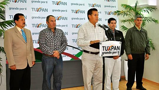 El gobierno de Tuxpan ahorrará 15 mdp de gasto corriente