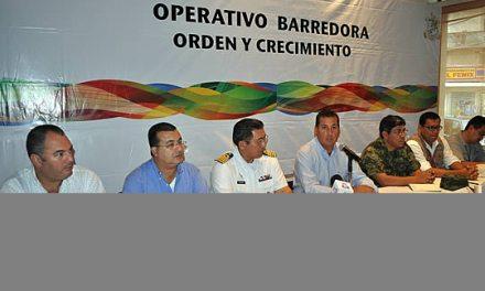 En marcha operativo Barredora