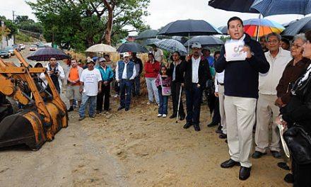 Dos nuevas obras de infraestructura urbana se inician en Tuxpan