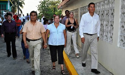 Continúan las inauguraciones de obra en Tuxpan