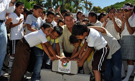 Inicia ASR dos nuevas obras en escuelas del campo tuxpeño