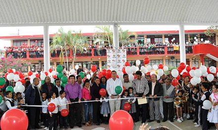 Entrega ASR un domo más para plantel educativo en Tuxpan
