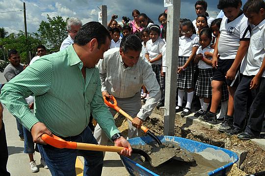 Más apoyos a la infraestructura educativa
