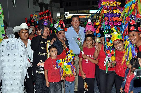 """Gran participación y asistencia en el concurso de la """"Malinche"""""""