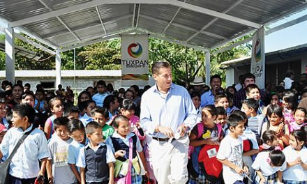 Más y mejores espacios para escuelas rurales en Tuxpan