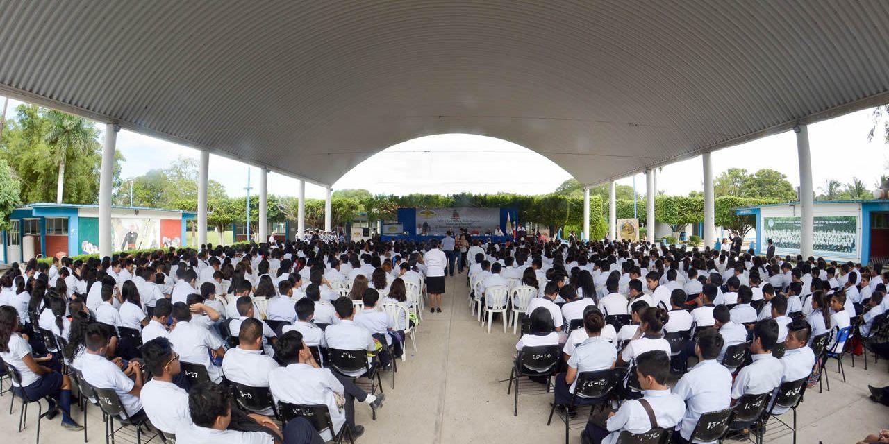 Inaugura Raúl Ruiz Actividades de la EMAP