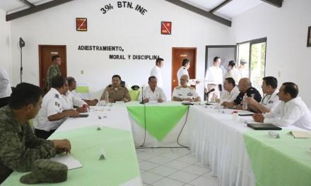 Encabeza Gobernador sesión del Mando Especial Veracruz, en Tuxpan