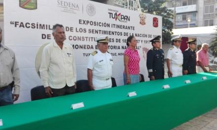 SEDENA clausura exposición en Tuxpan