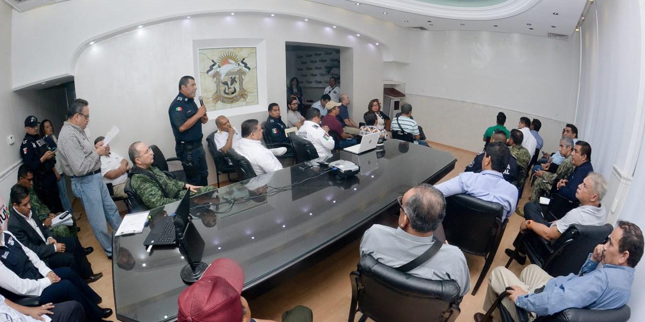 Autoridades Coordinan Estrategias de Seguridad