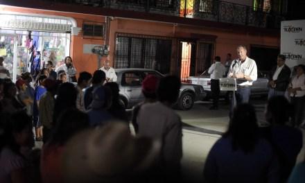 Ayuntamiento y SUTERM 55 Avanzan en la Atención del Alumbrado Público de Tuxpan