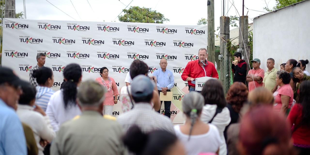 Raúl Ruiz Entrega Obra en Colonia Lázaro Cárdenas