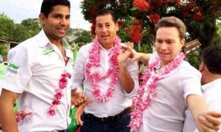 Los tres de la bella unión: rosa, clavel y botón