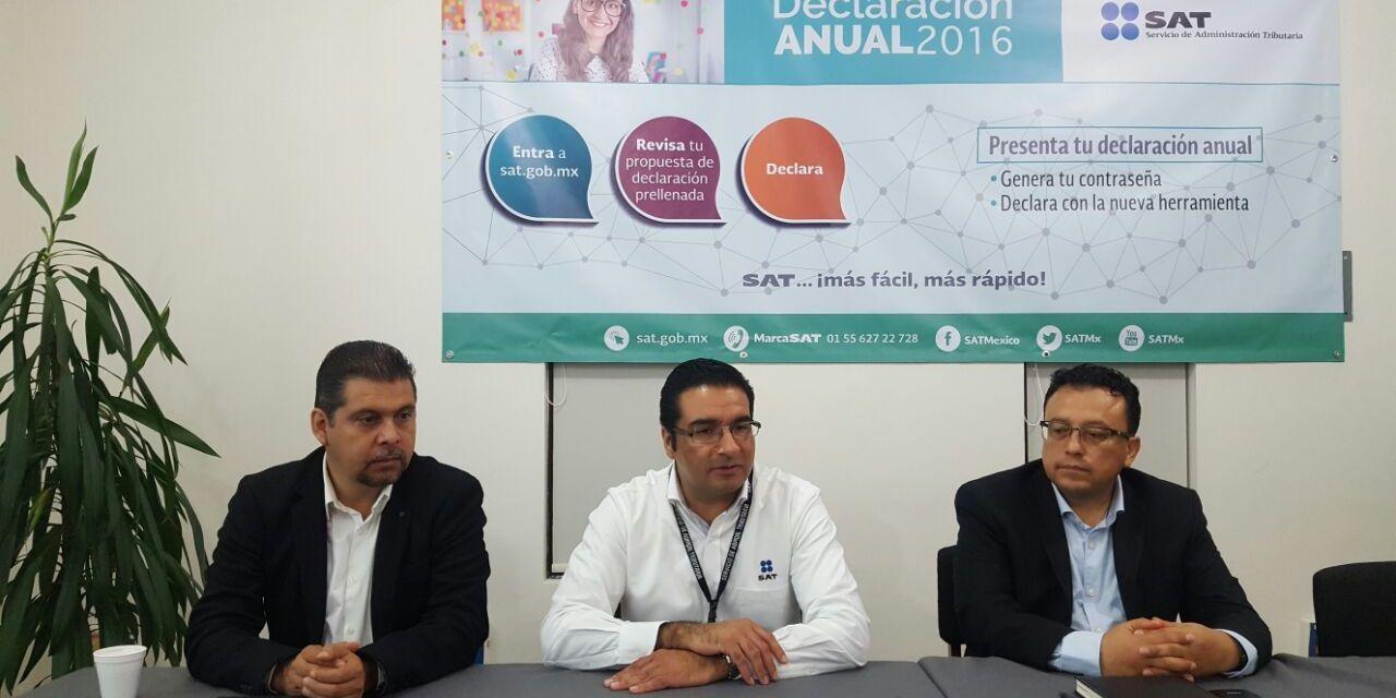 Contribuyentes cuentan con facilidades para realizar Declaración Anual 2016