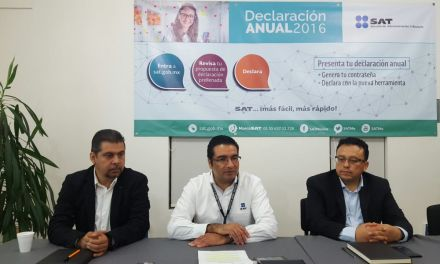 Contribuyentes cuentan con facilidades para realizar Decaración Anual 2016