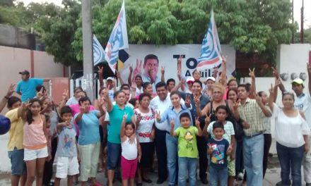 Los adultos mayores estarán conmigo: Toño Aguilar