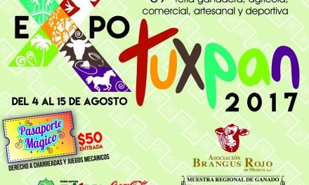 ELENCO ARTÍSTICO DE LA EXPOTUXPAN 2017