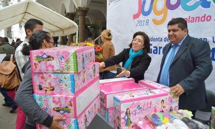 Agradece Presidenta del DIF apoyo total al Juguetón 2018