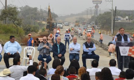 El libramiento ya es una realidad: Toño Aguilar